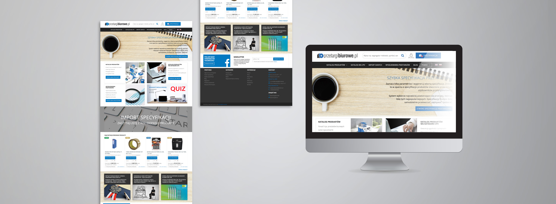 Strona www PRZETARGI BIUROWE